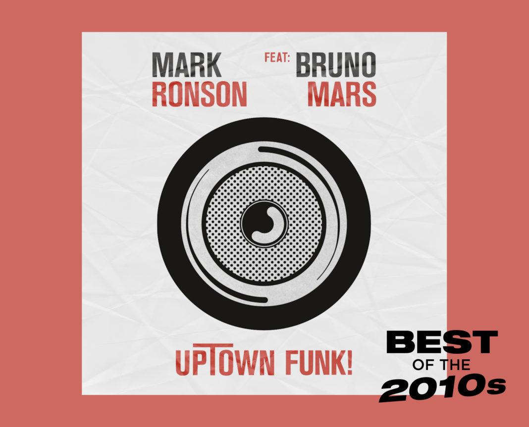 Mark Ronson Bruno Mars Uptown Funk artwork