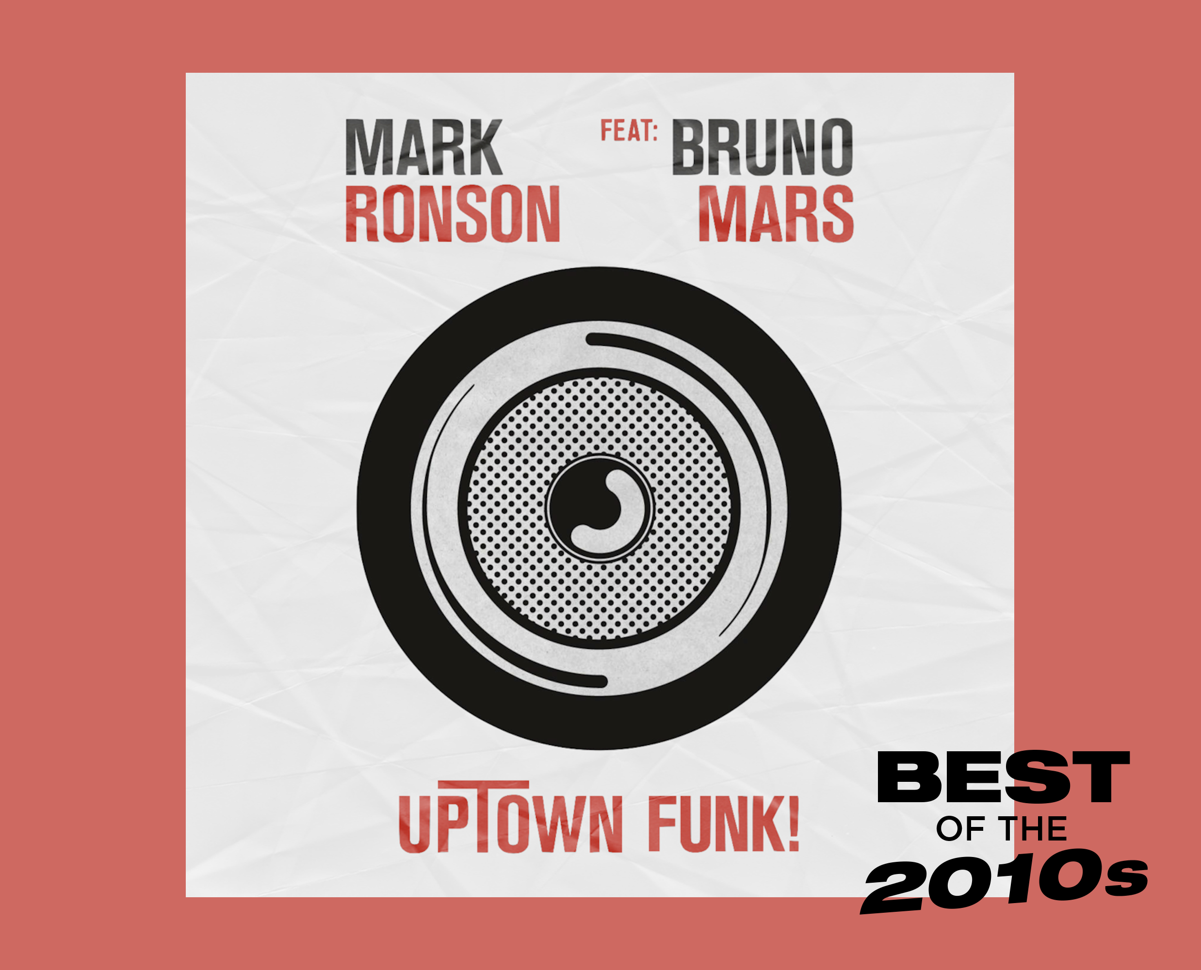 Mark Ronson Bruno Mars Uptown Funk artwork