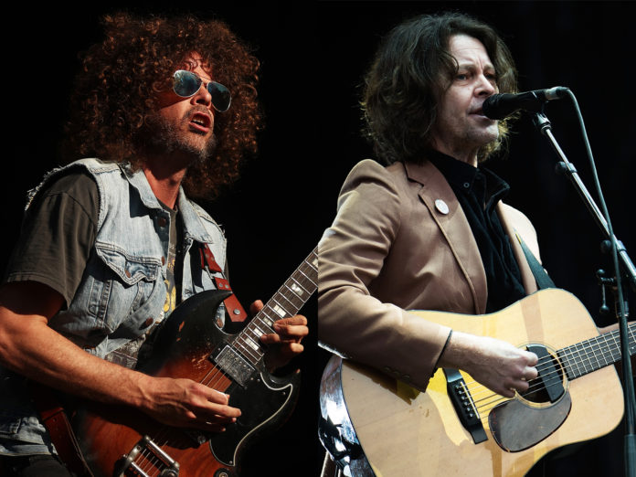Wolfmother Bernard Fanning Make it Rain 2020 bushfire benefit