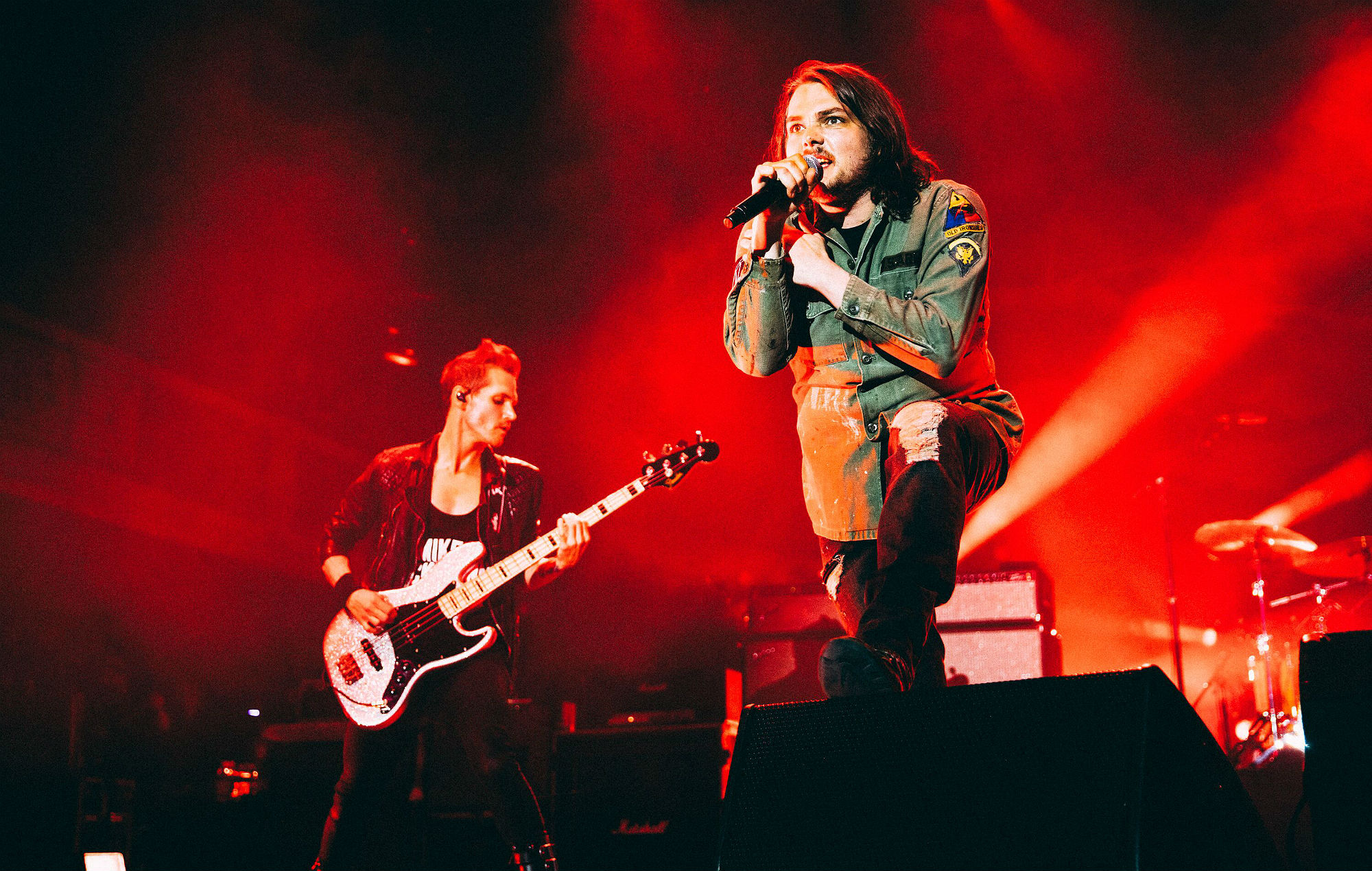 My Chemical Romance's comeback reunion show. Credit: Pooneh Ganah