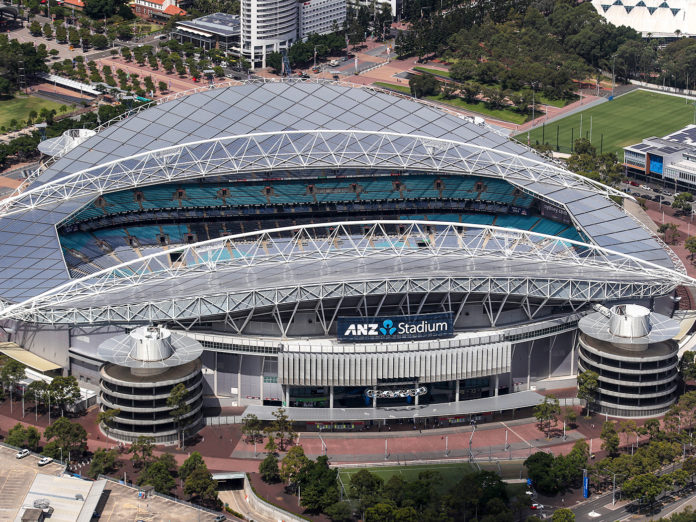 ANZ Stadium Sydney Fire Fight Australia Bushfire Benefit