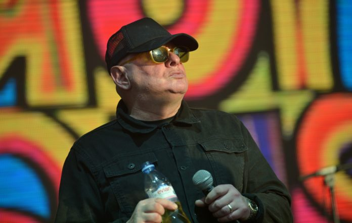 Shaun Ryder of the Happy Mondays