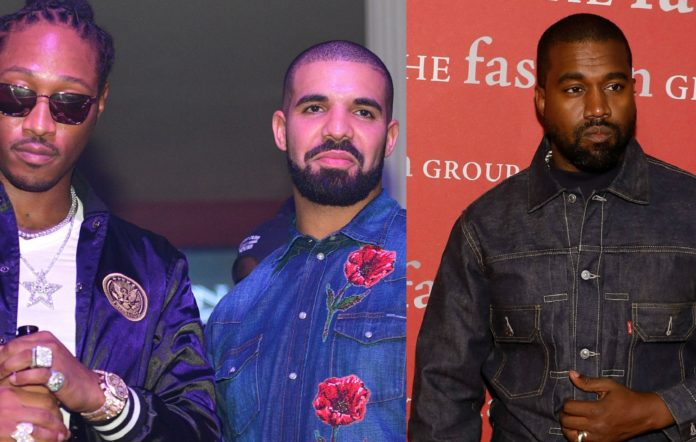Future, Drake and Kanye West