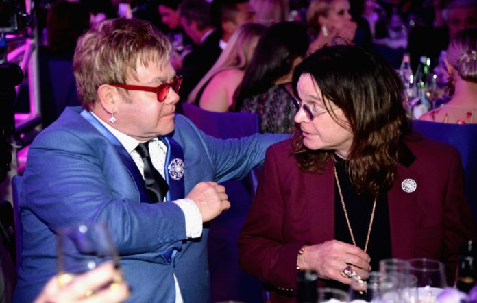 Ozzy Osbourne and Sir Elton John