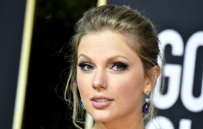 Taylor Swift attends the 77th Annual Golden Globe
