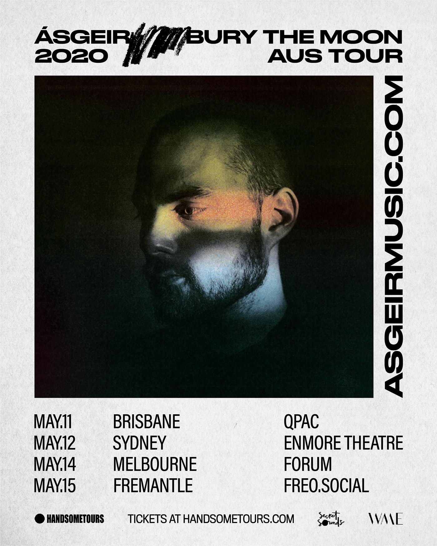 Ásgeir announces Australia 2020 headline tour