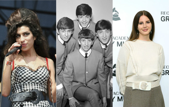 Amy Winehouse The Beatles Lana Del Rey