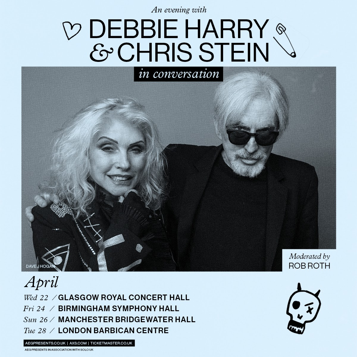 Blondie 'In Conversation' tour