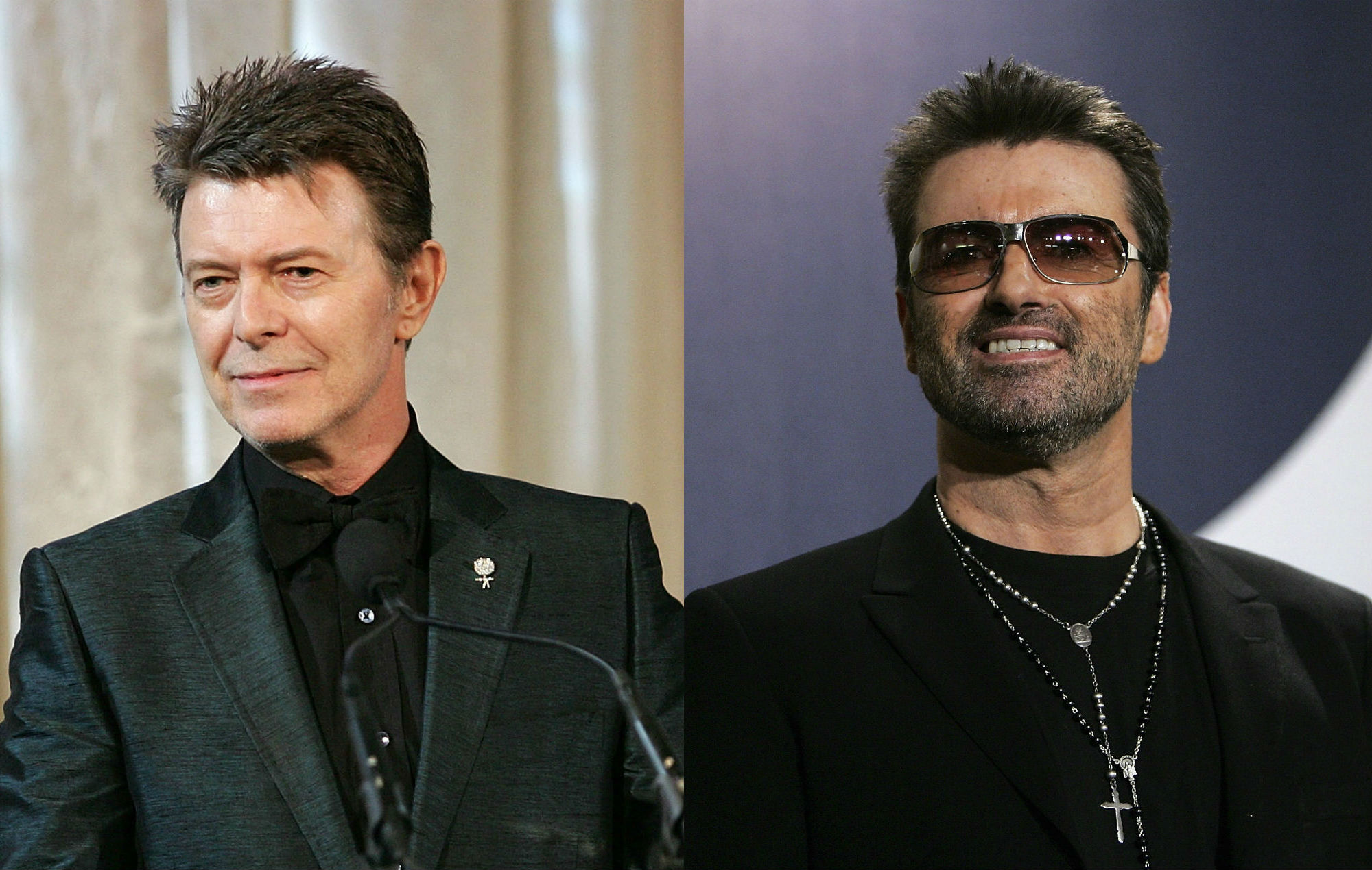 David Bowie and George Michael named among most influential people in British history