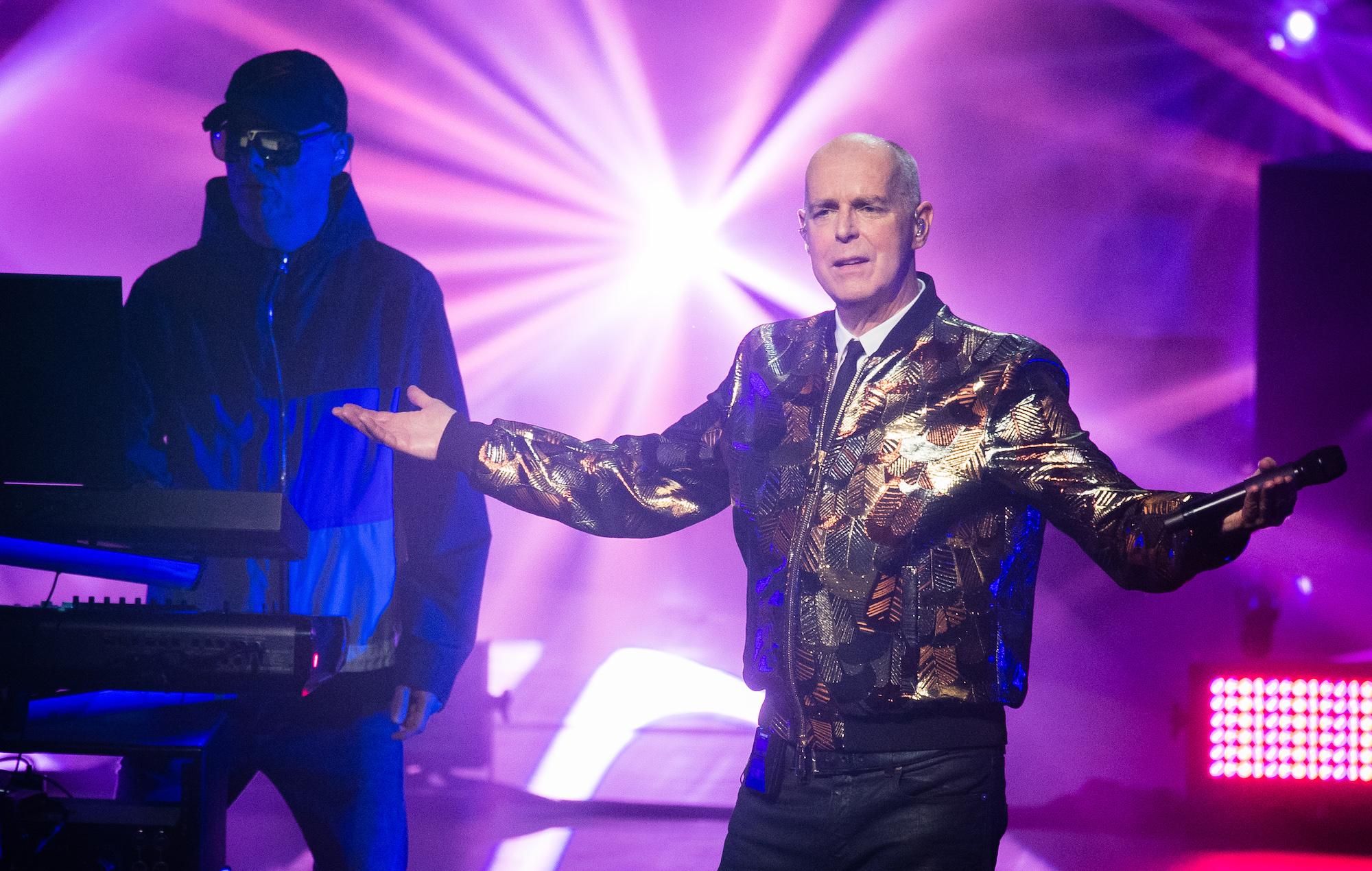 "Pet Shop Boys' Neil Tennant jokes ""Acoustic guitars should be banned"""