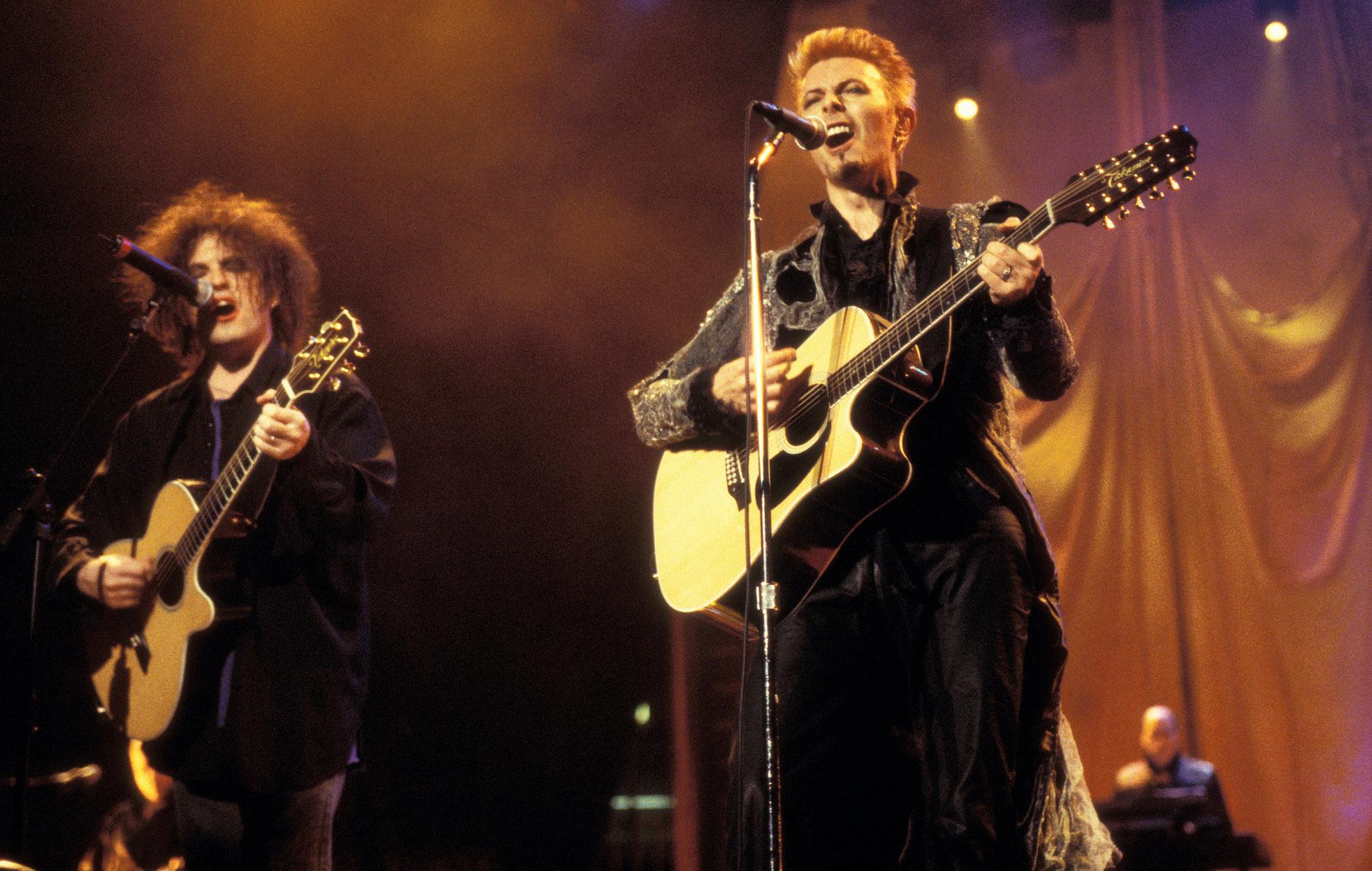 David Bowie Robert Smith 50th birthday