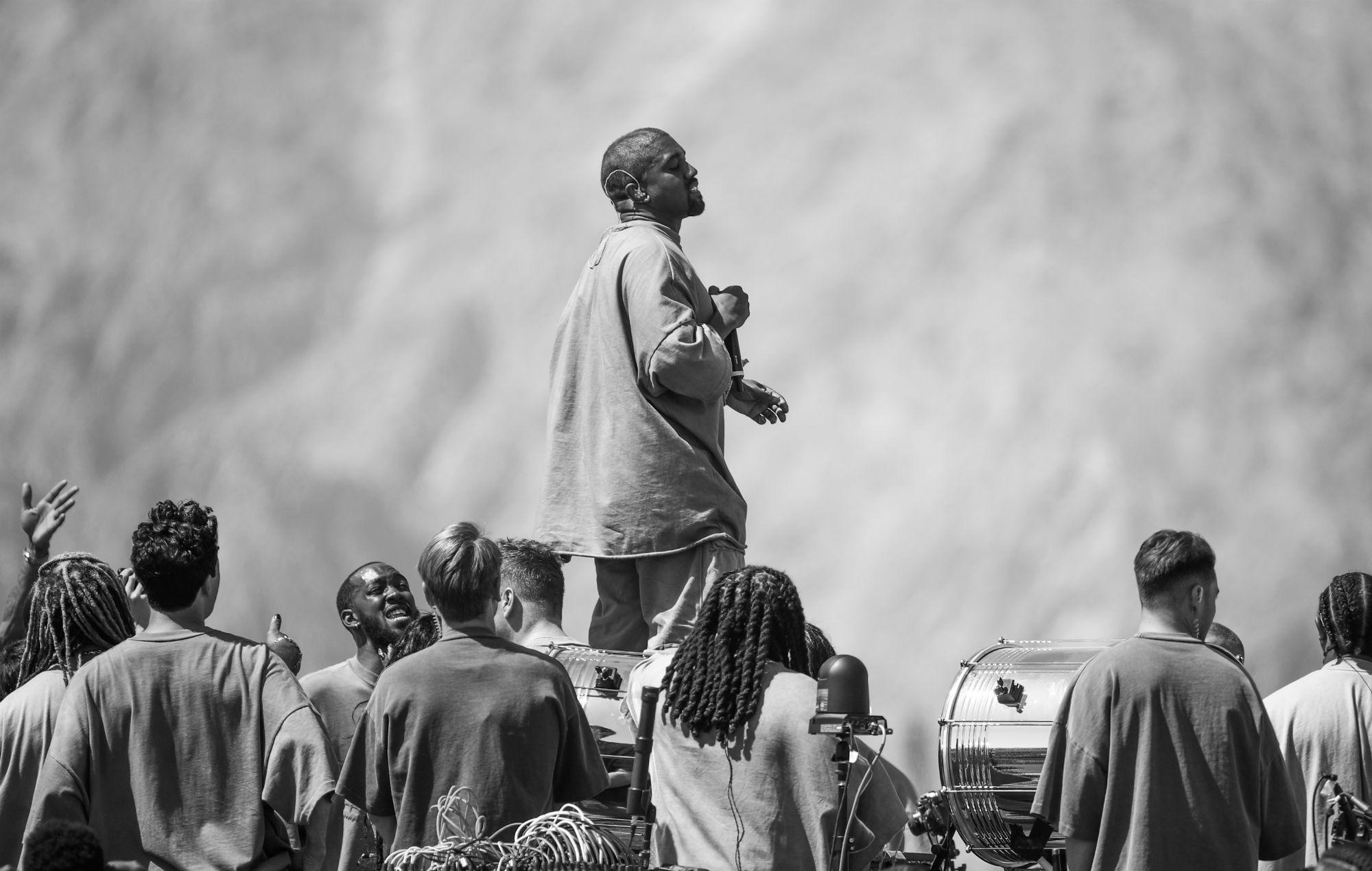 Kanye West's Sunday Service at Coachella 2019