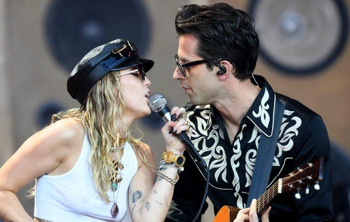 Miley Cyrus, Mark Ronson collaboration