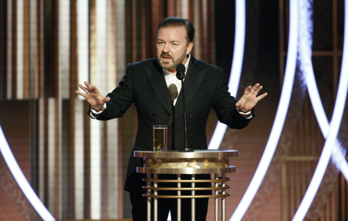 Ricky Gervais Golden Globes 2020