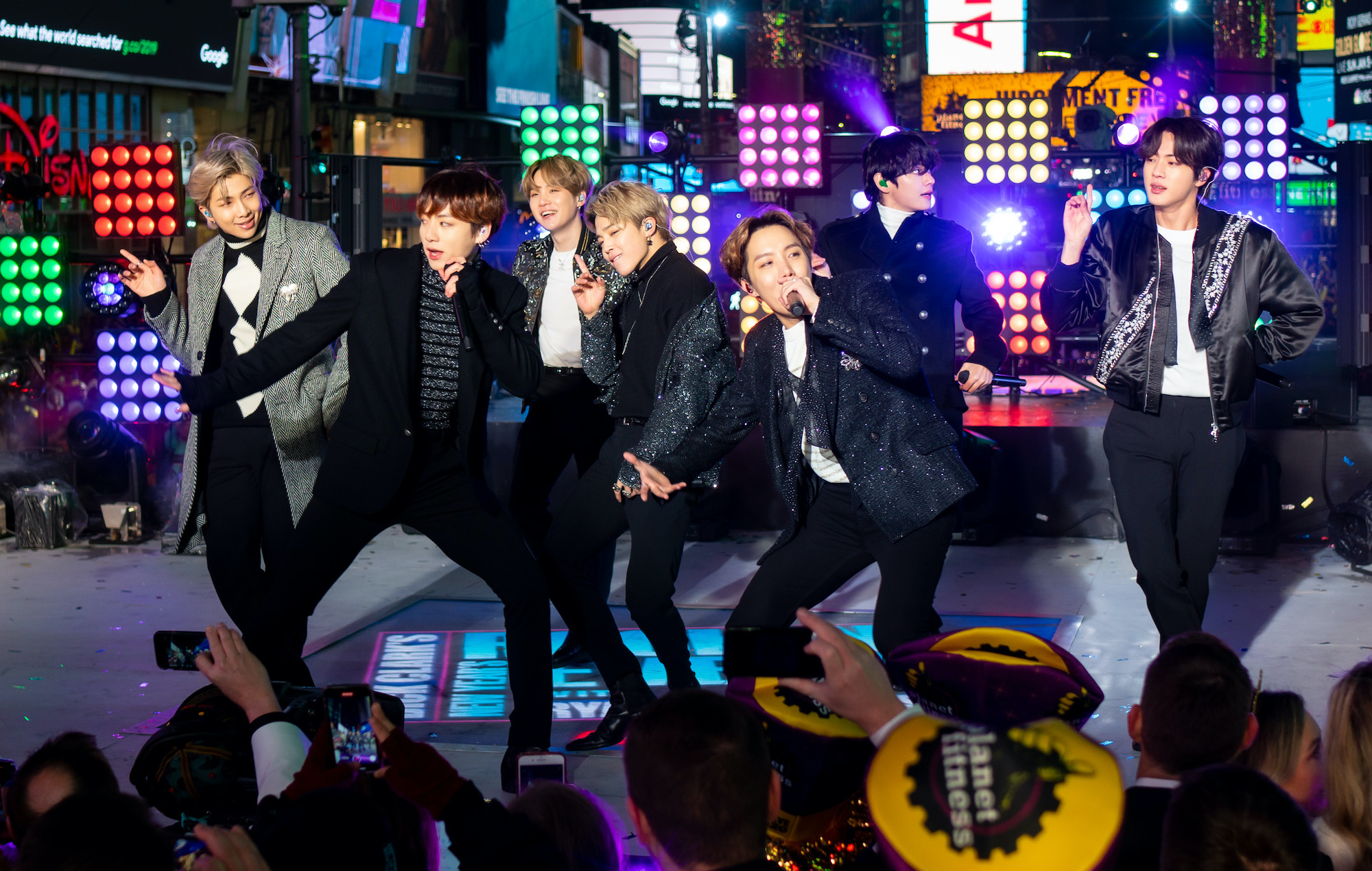Watch BTS cap off a huge year with New Year's Eve performance in Times Square
