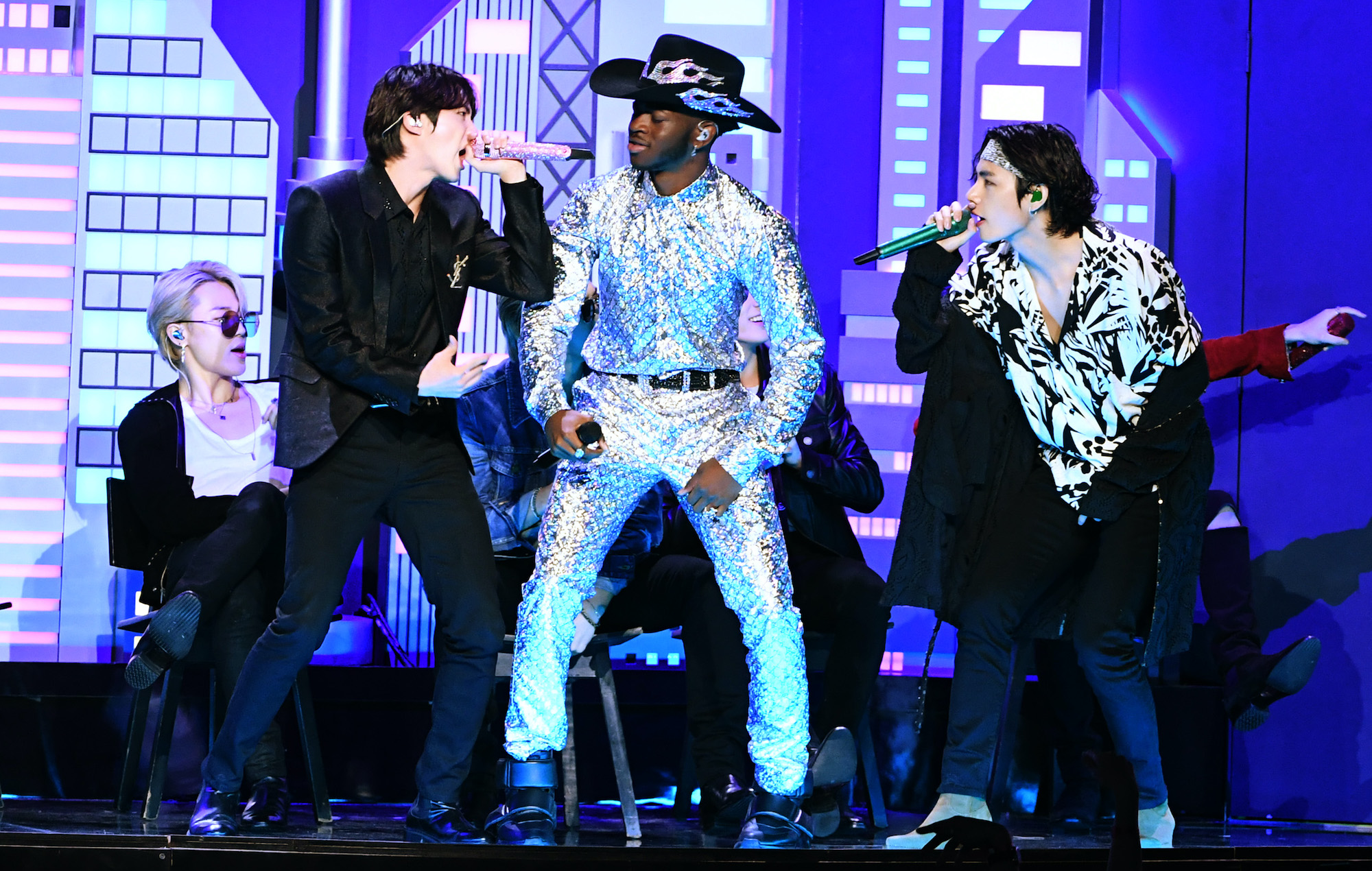 the best 2020 grammys performances from lil nas x and bts to billie eilish https www nme com blogs nme blogs the best 2020 grammys performances from lil nas x and bts to billie eilish 2601396