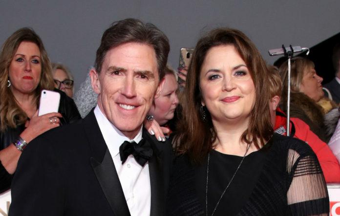 Rob Brydon and Ruth Jones