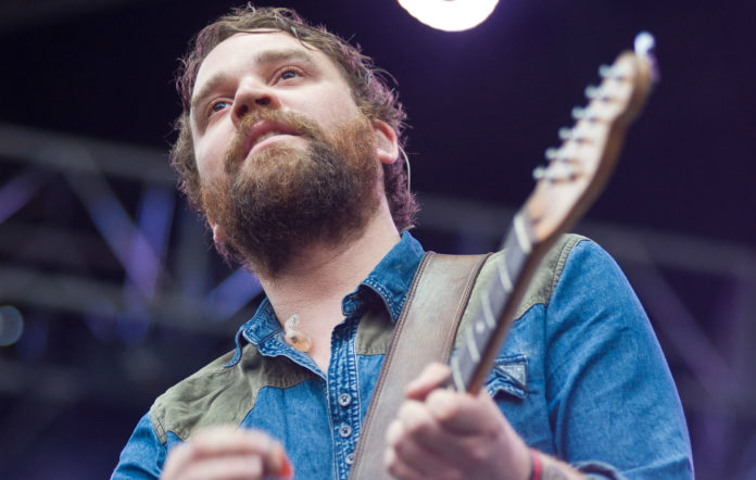 Frightened Rabbit's Scott Hutchison. Credit: Timothy Hiatt/WireImage