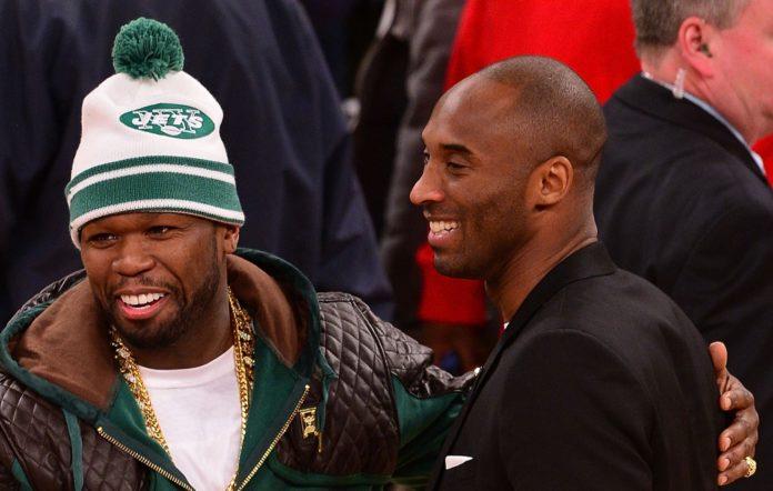 50 Cent and Kobe Bryant