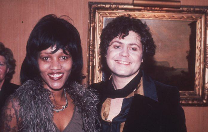 Gloria Jones and Marc Bolan