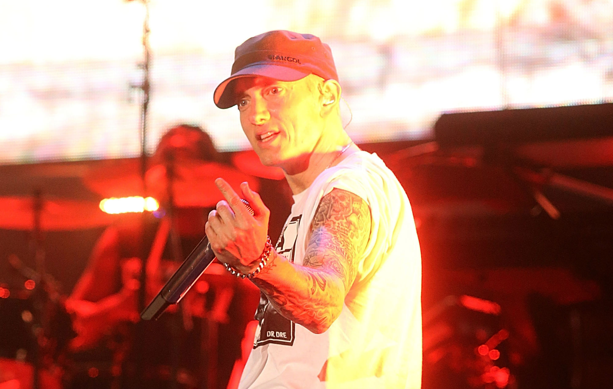 The big talking points from Eminem's surprise new album 'Music To Be Murdered By'