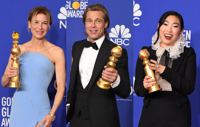 Renée Zellweger, Brad Pitt and Awkwafina