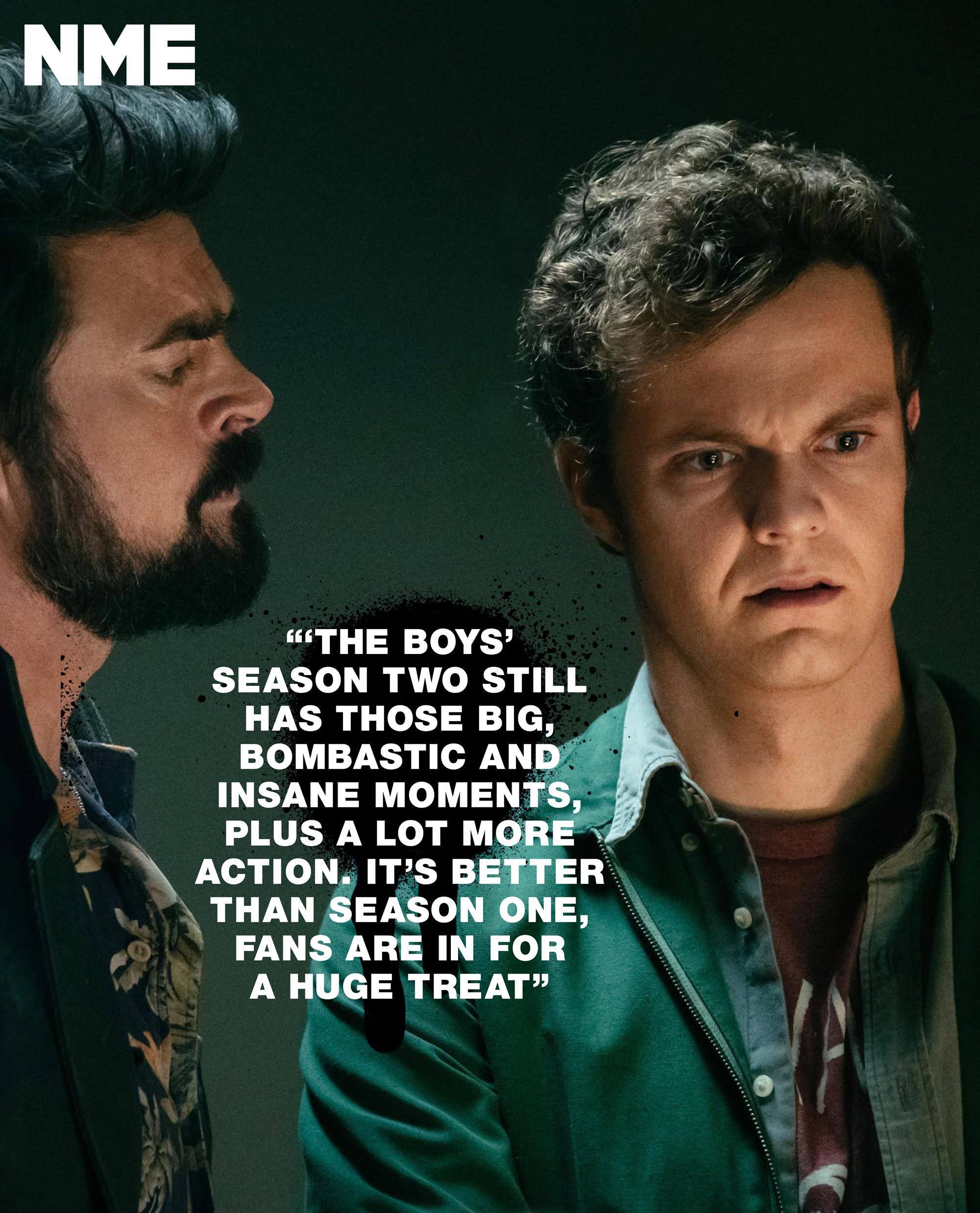 Jack Quaid On The Boys Season 2 Quot It S Big Bombastic