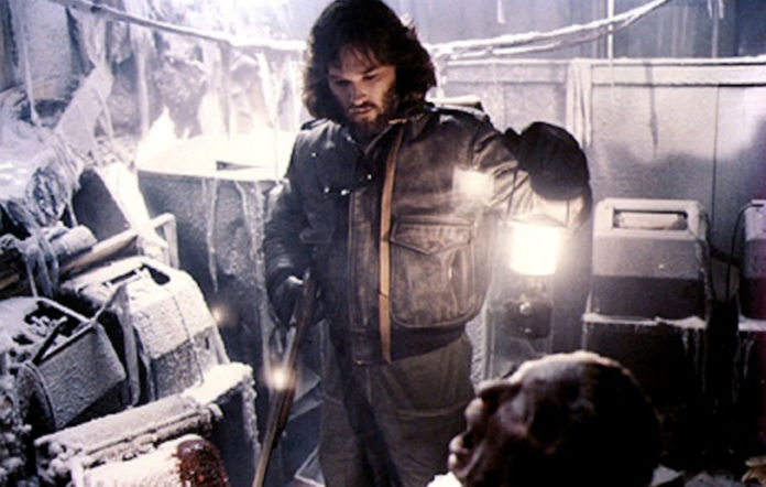 Kurt Russell stars in 'The Thing' (1982)