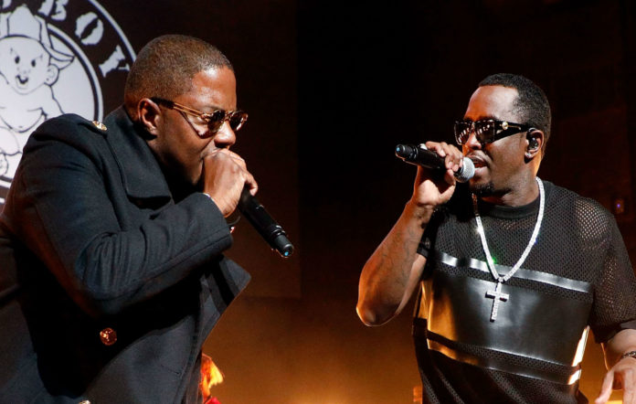 Mase and Diddy