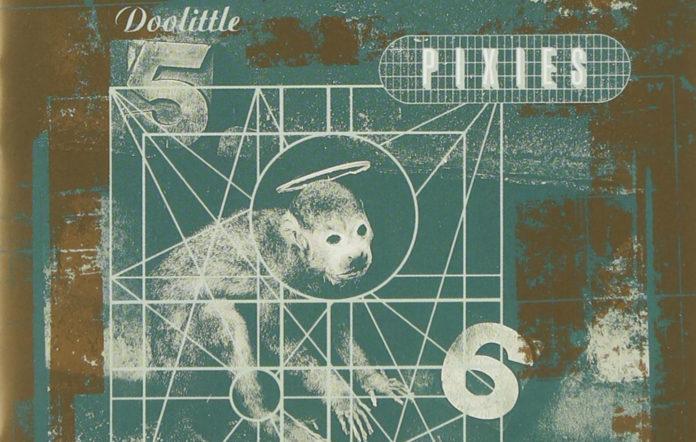 Pixies' artwork for 'Doolittle', by Vaughan Oliver