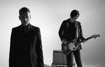 Rob Marshall and Depeche Mode's Dave Gahan. Credit: Derrick Belcham