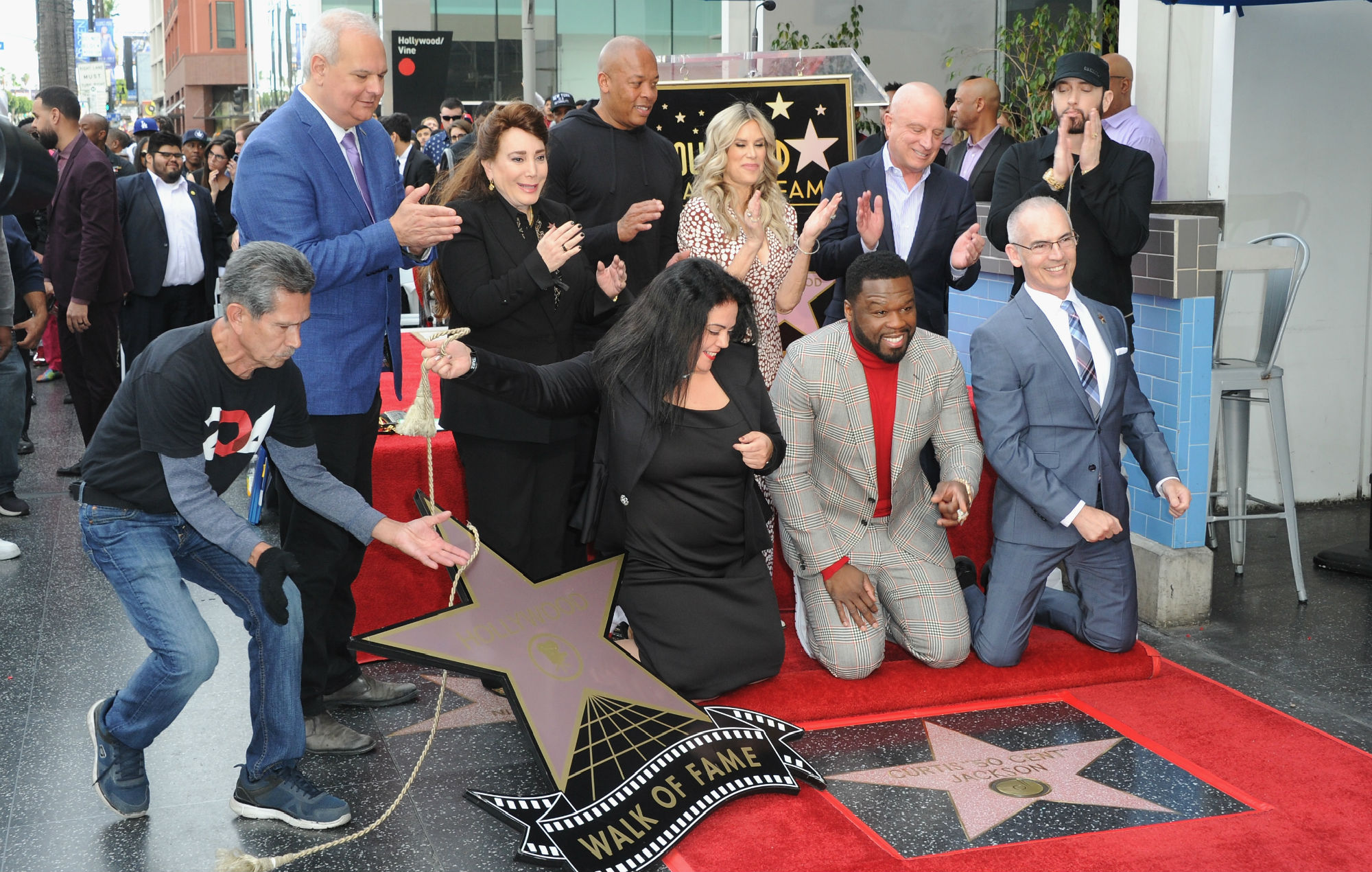 50 Cent Hollywood Walk of Fame