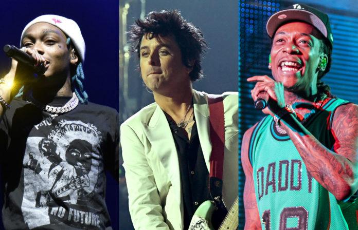 Tyla Yaweh, Wiz Khalifa, Billie Joe Armstrong