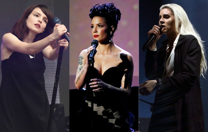 Chvrches, Halsey, and PVRIS tour
