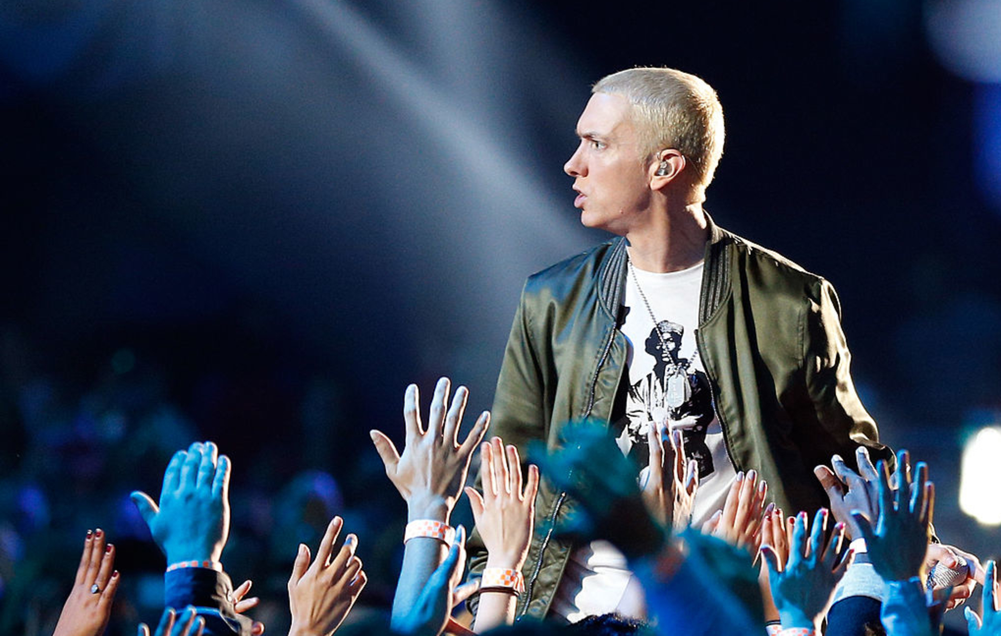 Eminem: Manchester mayor criticises rapper for controversial lyrics about arena attack