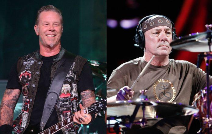Metallica and Neil Peart