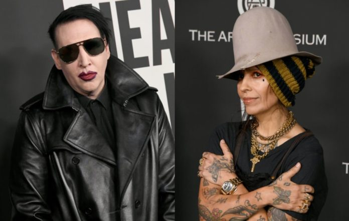 Marilyn Manson and Linda Perry