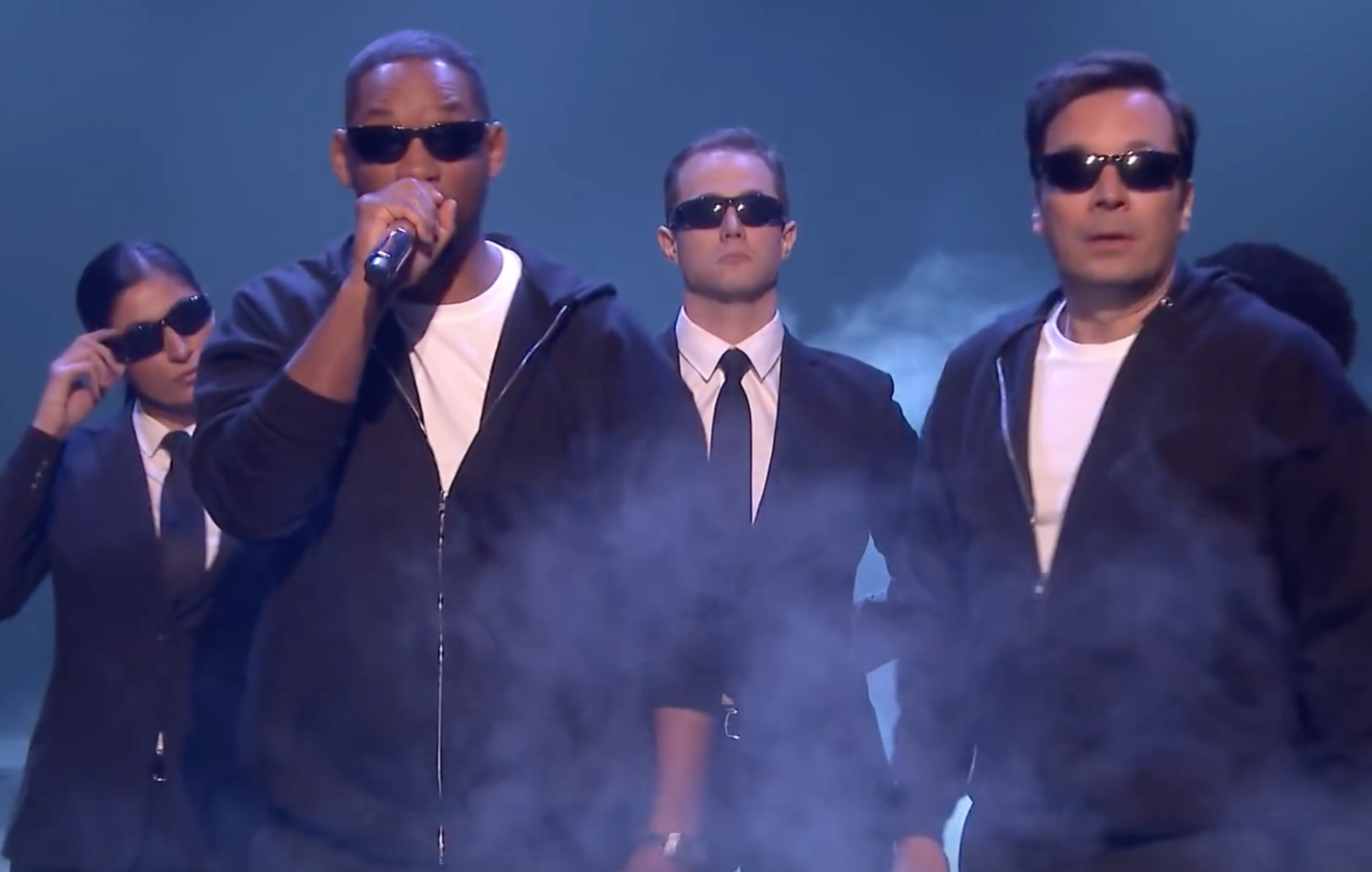 Will Smith raps his entire career history in just 150 seconds with Jimmy Fallon