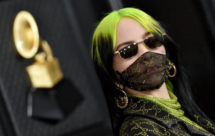 Billie Eilish attends the 62nd Annual GRAMMY Awards