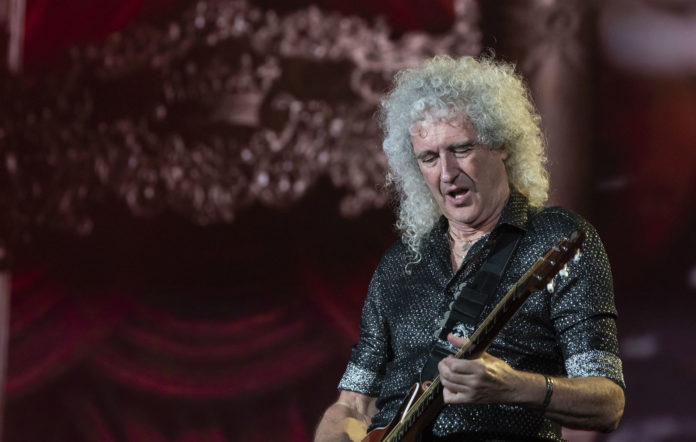 Brian May of Queen performs on stage during 2019 Global Citizen Festival