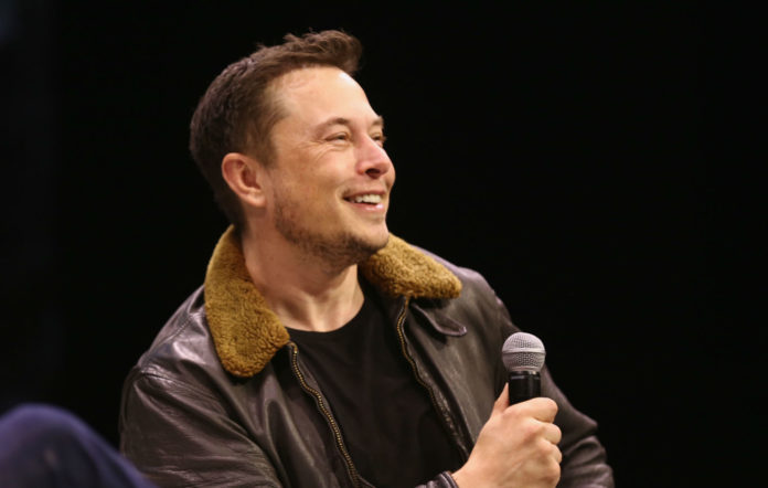 Elon Musk speaks onstage at Elon Musk Answers Your Questions