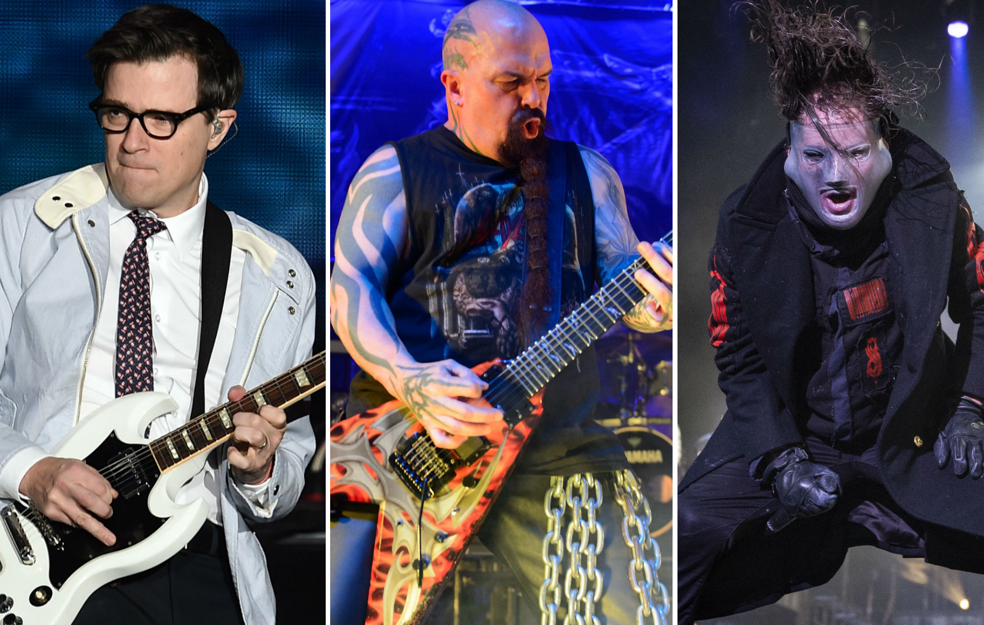 Funko Pop! unveil Weezer, Slayer and Slipknot collectables