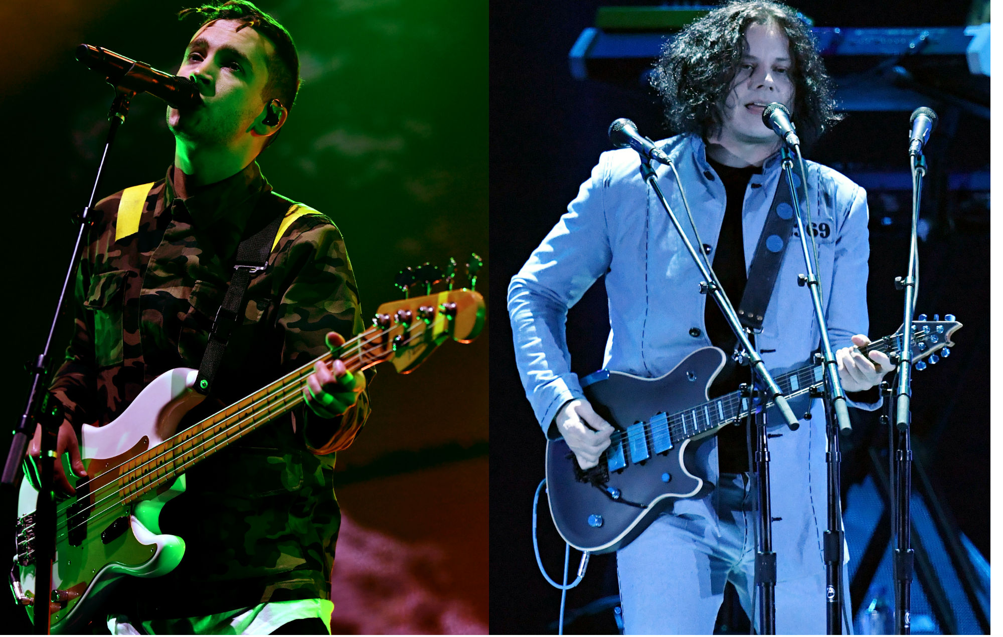 Twenty One Pilots' Tyler Joseph receives guitar pedals and special note from Jack White