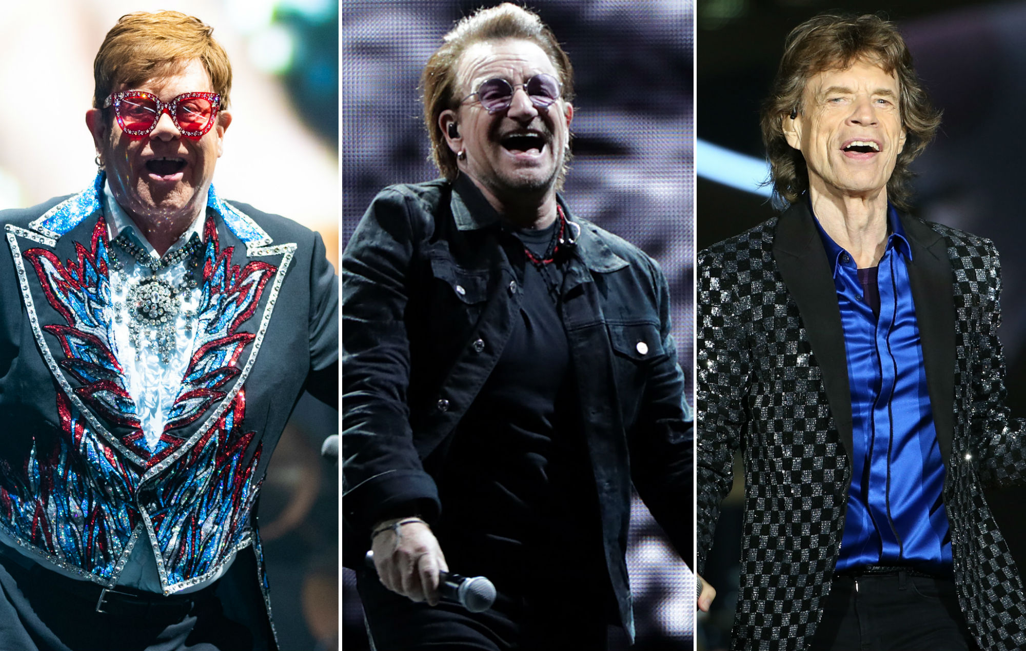 Rock documentaries about The Rolling Stones, U2 and Elton John face copyright lawsuit