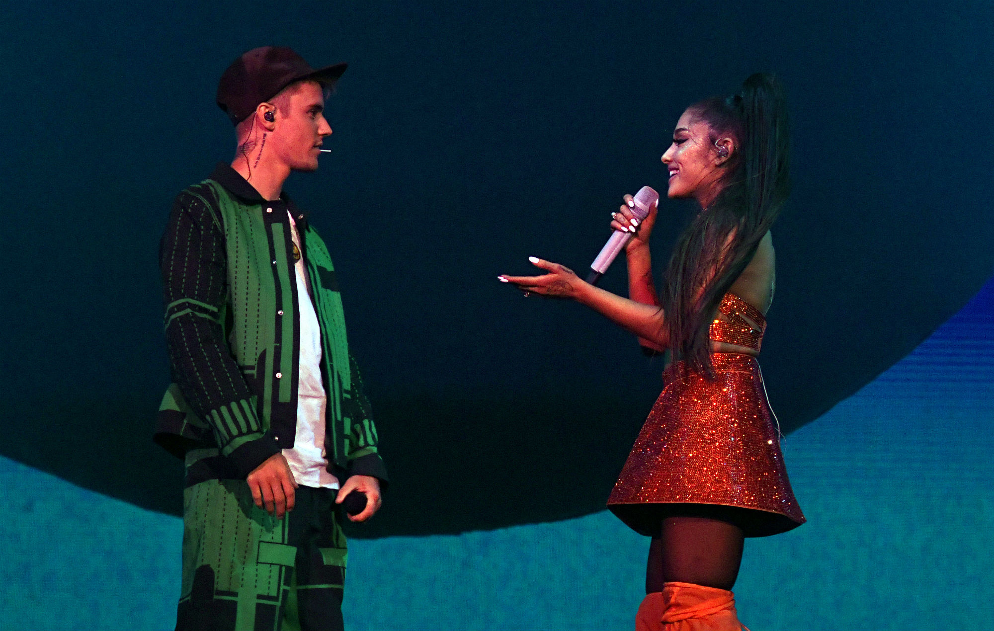 Justin Bieber decided to return to music after performing with Ariana Grande at Coachella