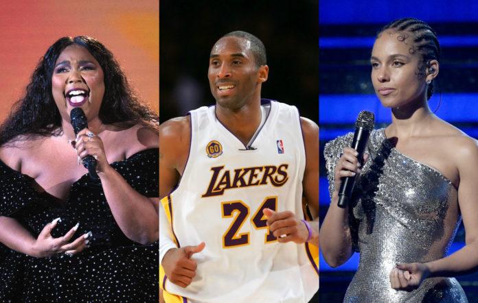 Lizzo Kobe Bryant Alicia Keys