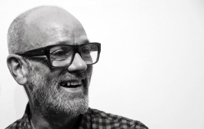 Michael Stipe, former singer of the band R.E.M. and solo artist