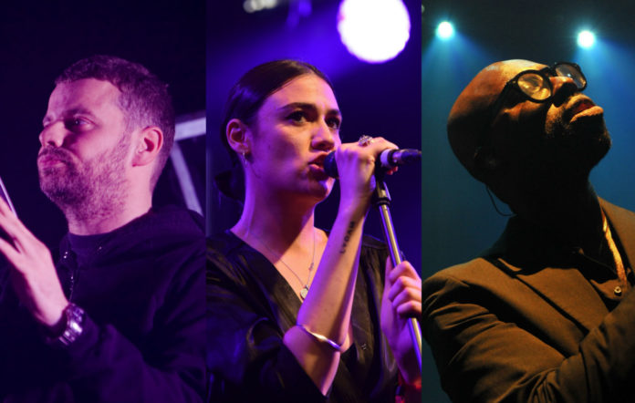 From left to right: Ed Simons of The Chemical Brothers; Nadine Shah, and Ghostpoe