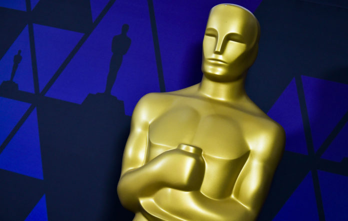 Oscar Statue at the Academy of Motion Picture Arts and Sciences on February 23, 2019