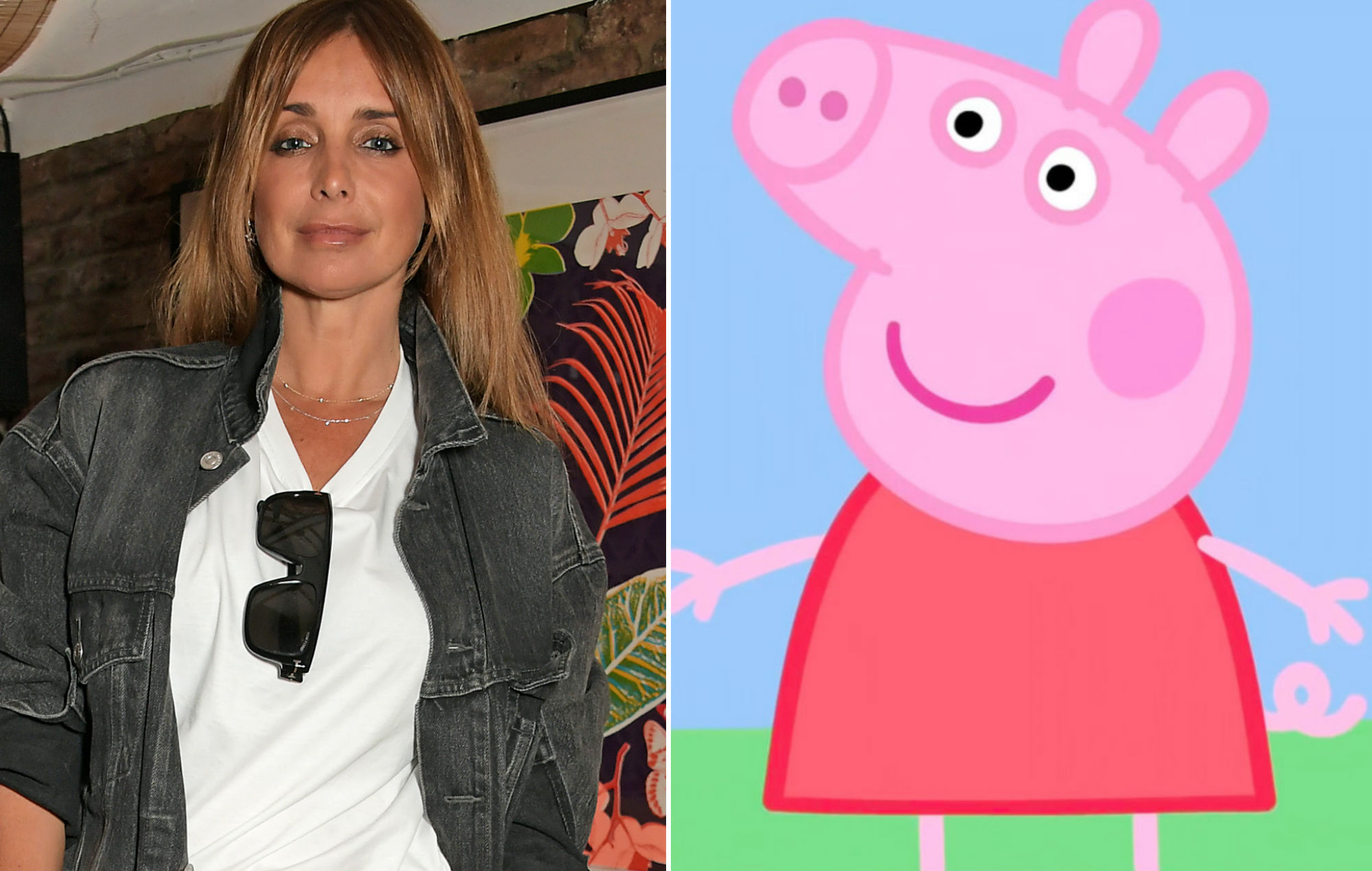 Louise Redknapp takes aim at Peppa Pig amid legal battle over her track 'Naked'